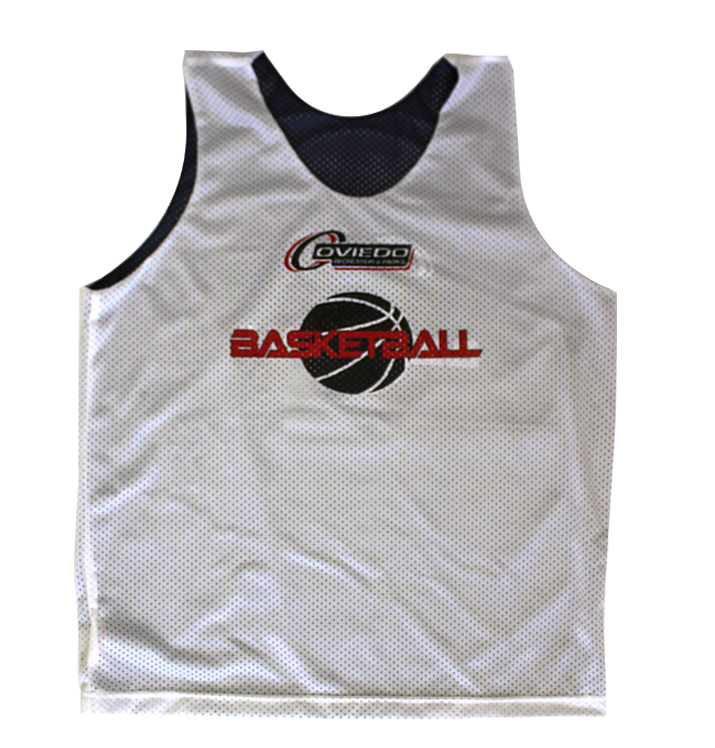 Sports Jersey Reversible White Front