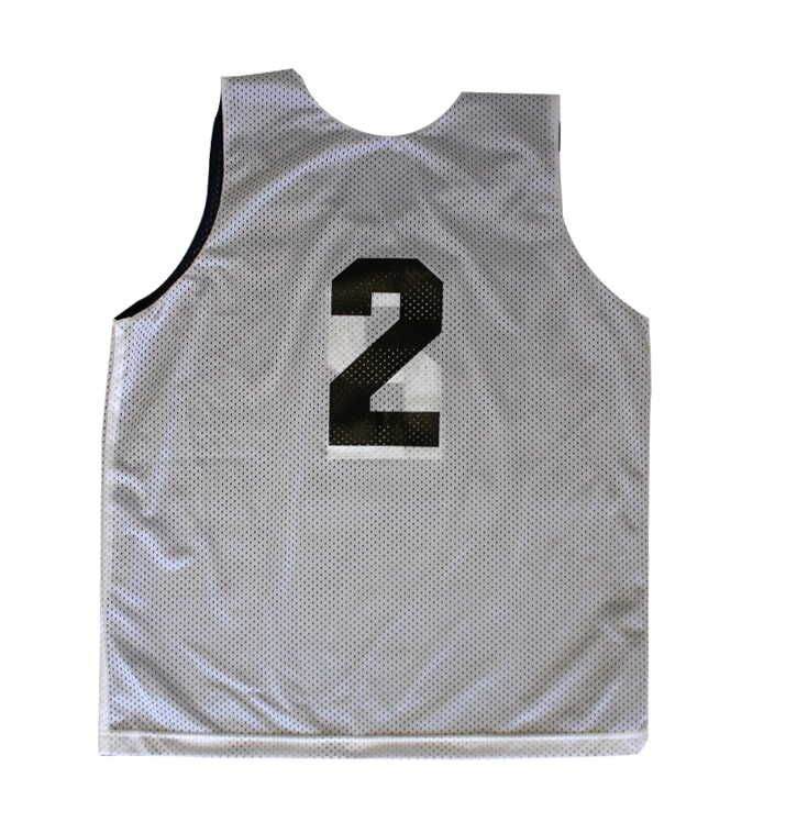 Sports Jersey Reversible White Back